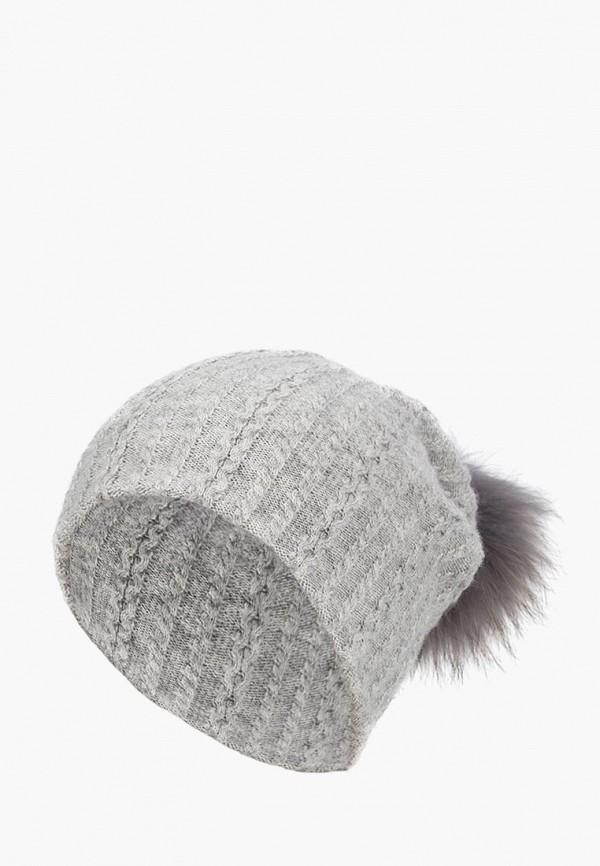 женская шапка labbra, серая