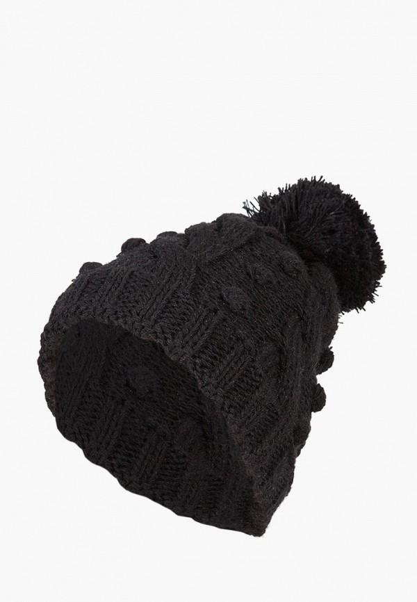 женская шапка labbra, черная