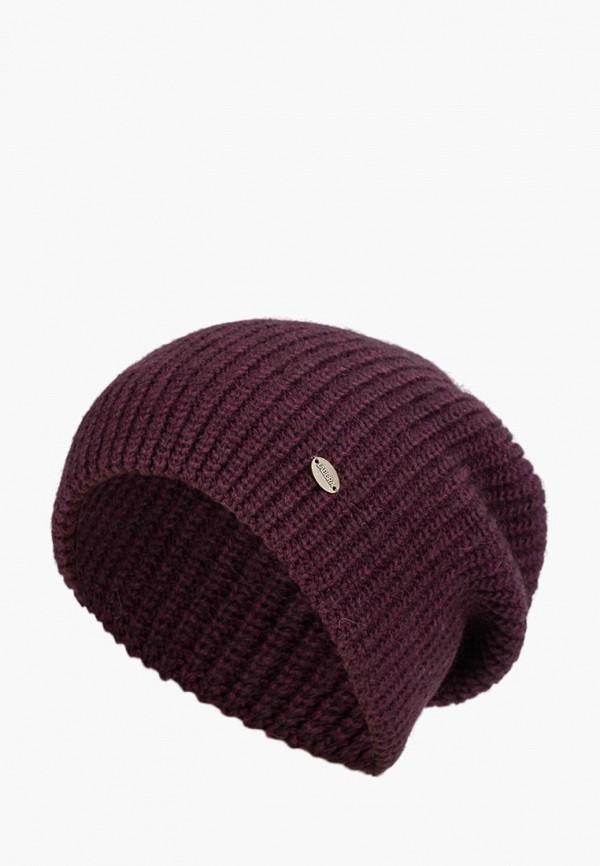 женская шапка labbra, фиолетовая