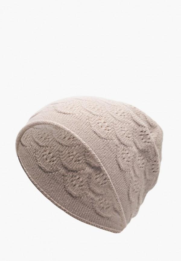 женская шапка labbra, бежевая