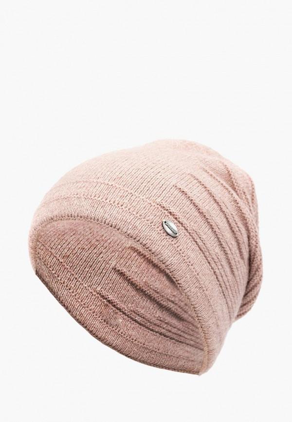 женская шапка labbra, розовая