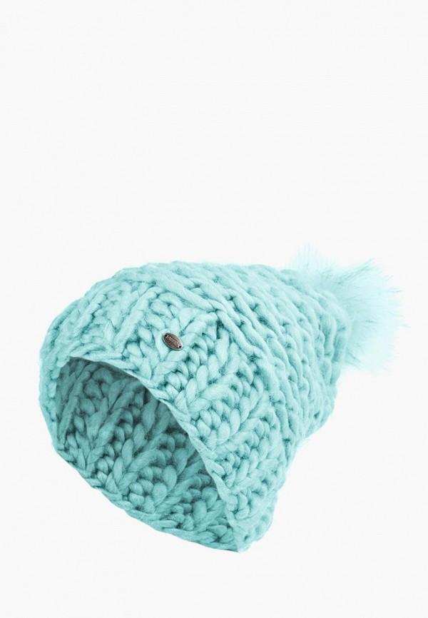 женская шапка labbra, бирюзовая
