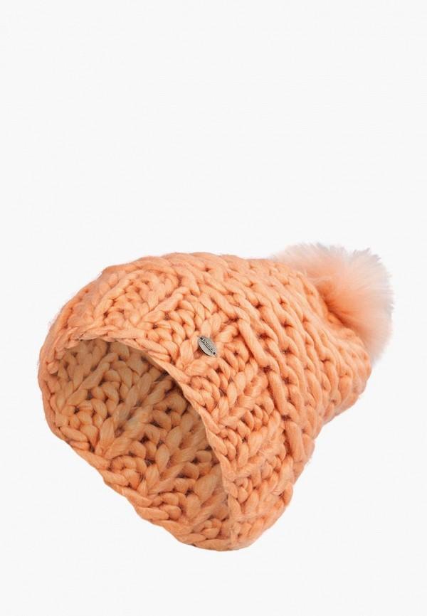 женская шапка labbra, оранжевая