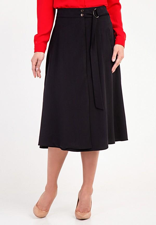 женская юбка das, черная