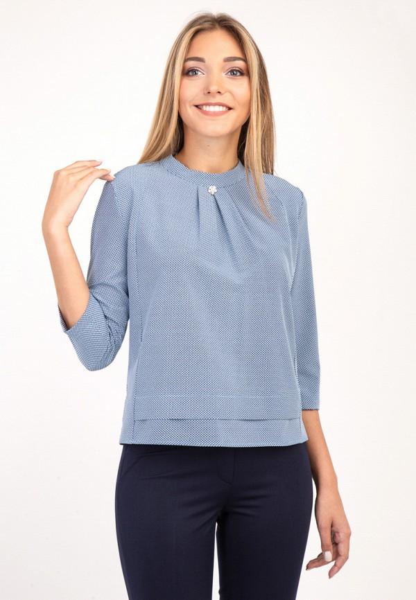женская блузка das, голубая