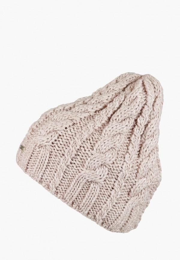 женская шапка dasti, бежевая