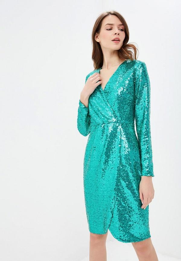 Платье Self Made Self Made MP002XW1HL4U self belted solid dress