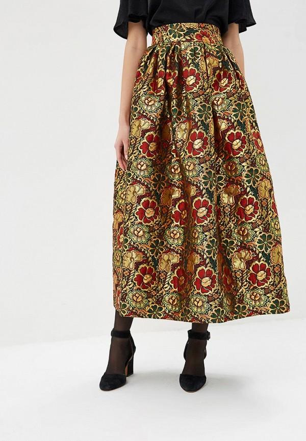 женская юбка модный дом виктории тишиной, красная