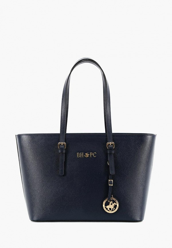 женская сумка beverly hills polo club, синяя