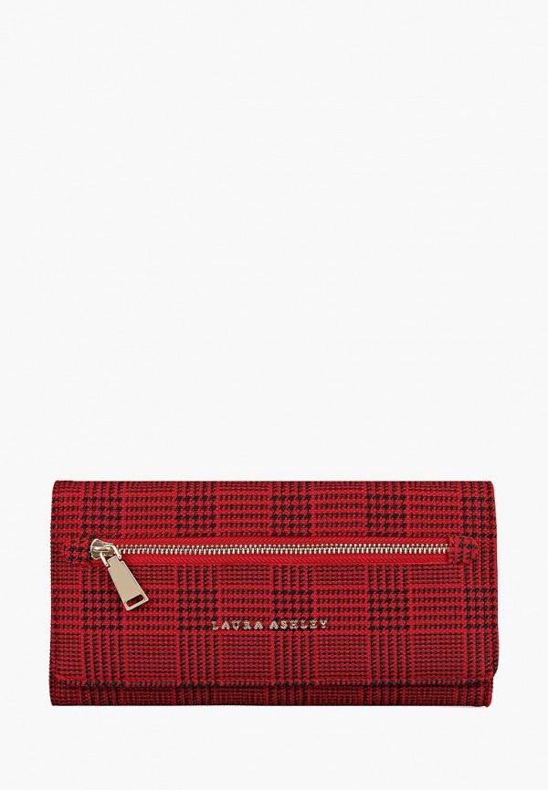 женский кошелёк laura ashley, красный