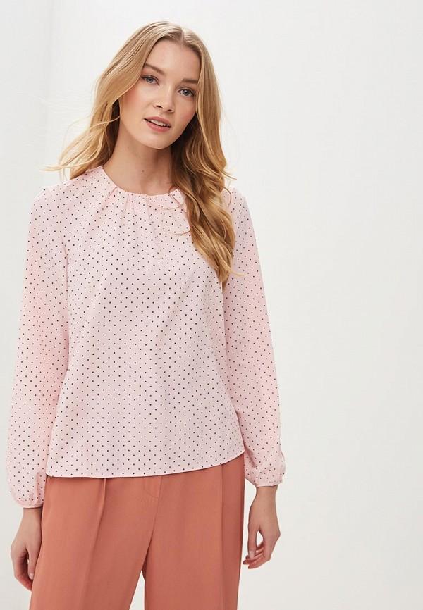 женская блузка froggi, розовая