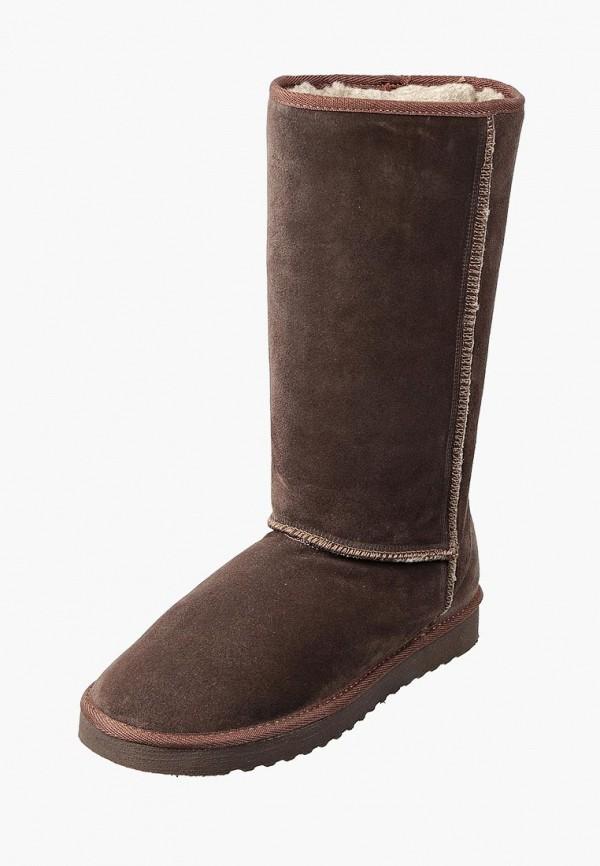 женские сапоги inblu, коричневые