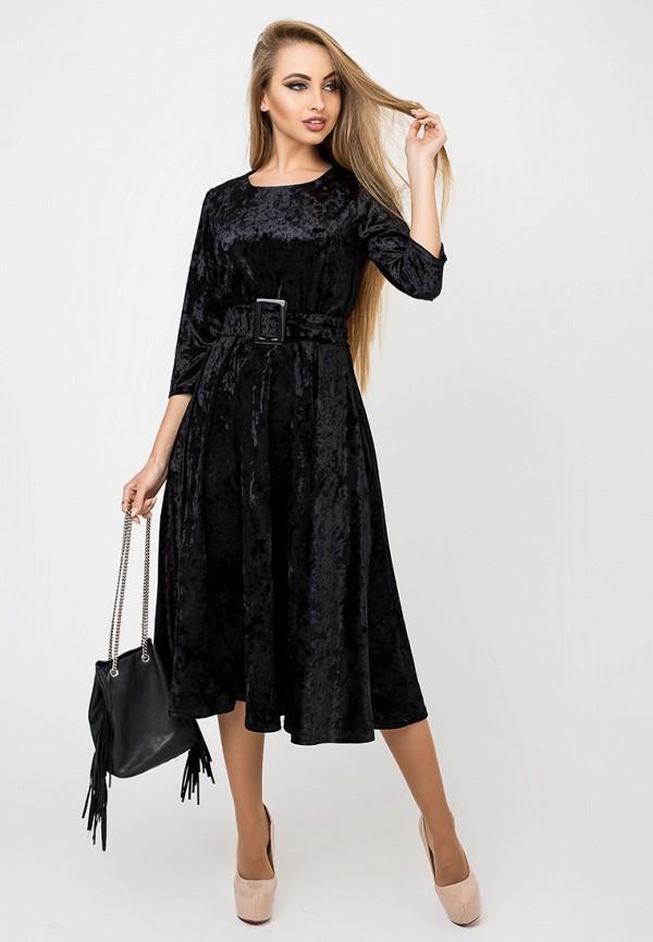 Платье Leo Pride, Трисс, mp002xw1hldi, черный, Осень-зима 2018/2019  - купить со скидкой