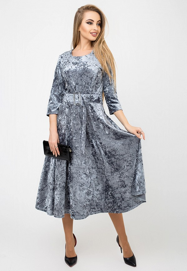 Купить Платье Leo Pride, mp002xw1hldk, серый, Осень-зима 2018/2019