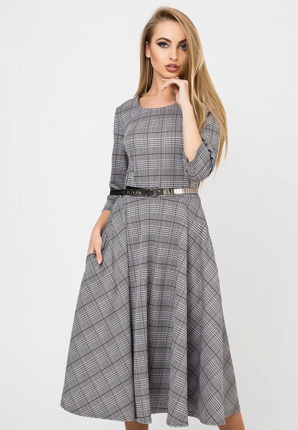Купить Платье Leo Pride, mp002xw1hldr, серый, Осень-зима 2018/2019