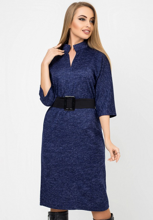 Купить Платье Leo Pride, mp002xw1hldt, синий, Осень-зима 2018/2019