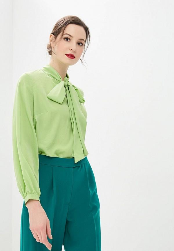 женская блузка elena kulikova, зеленая