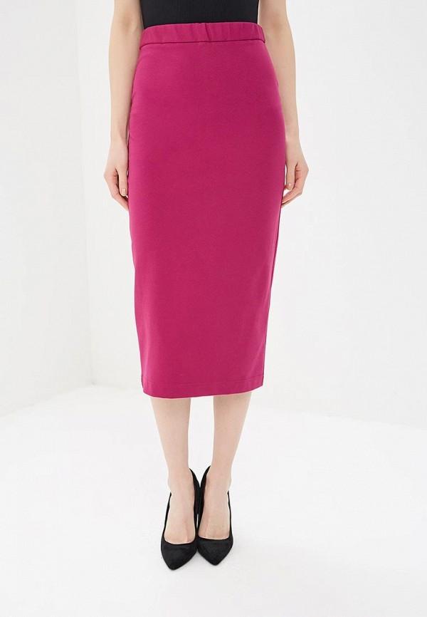 женская зауженные юбка elena kulikova, розовая