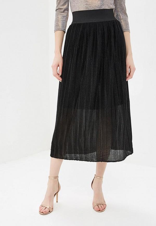 женская прямые юбка elena kulikova, черная