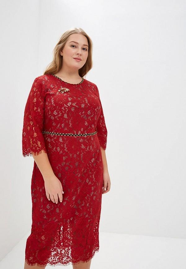 женское вечерние платье wisell, красное