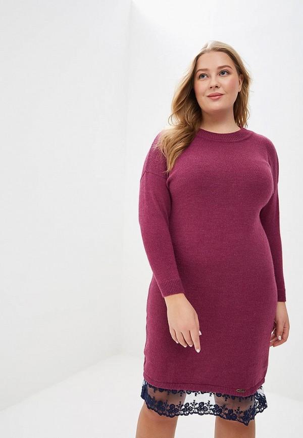 женское повседневные платье wisell, фиолетовое