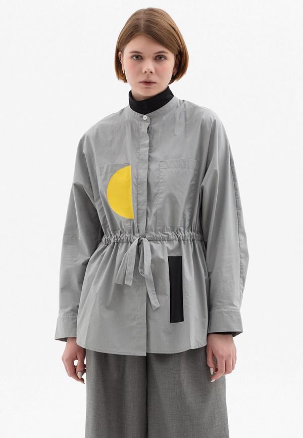 Купить Рубашку SØ серого цвета