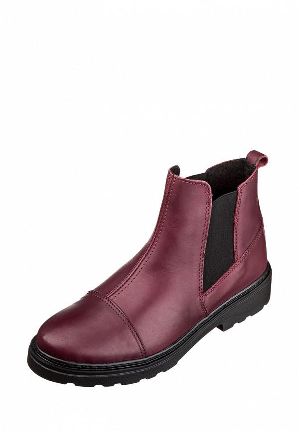 женские ботинки inblu, бордовые