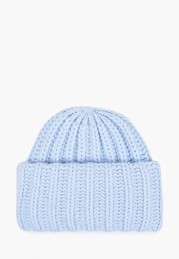 женская шапка regarzo, голубая