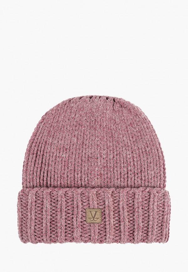 женская шапка vilermo, розовая