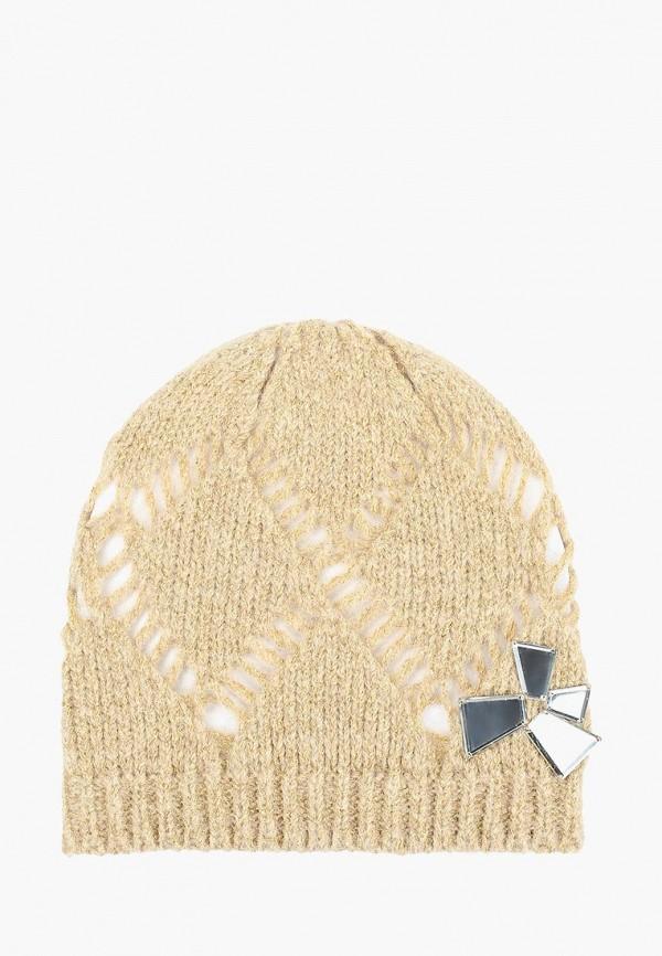 женская шапка jacote, бежевая