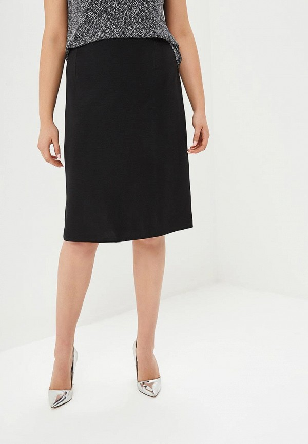 женская прямые юбка prewoman, черная