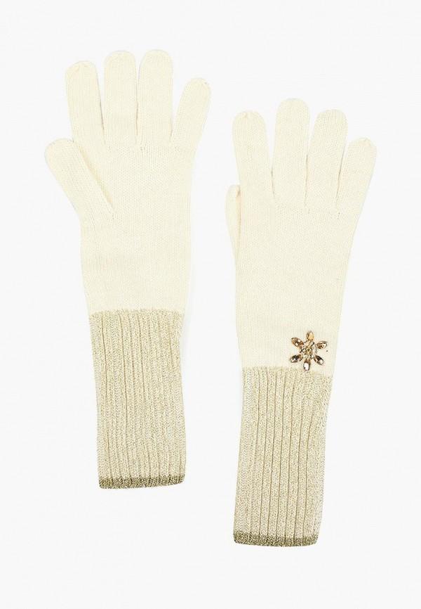 женские перчатки katomi, белые