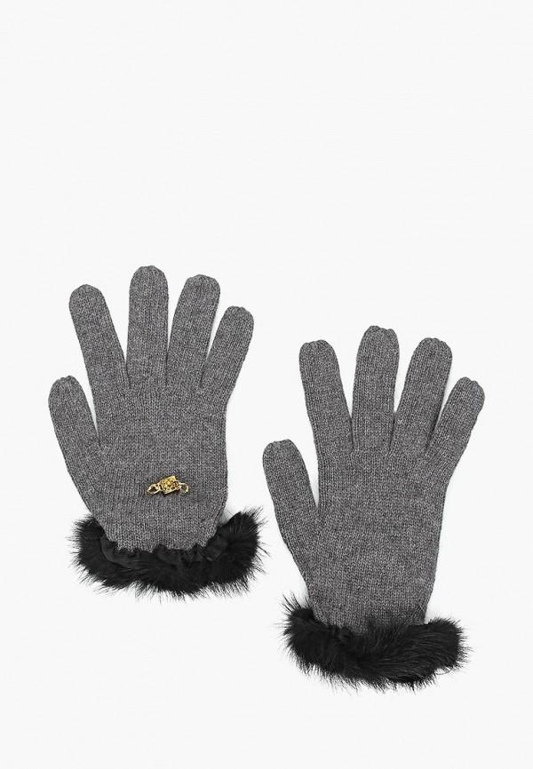 женские перчатки katomi, серые