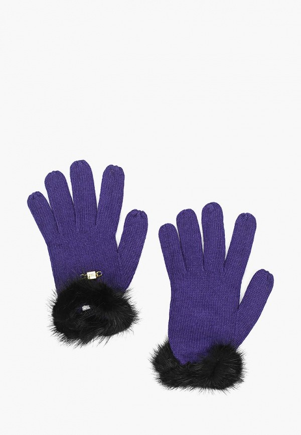 женские перчатки katomi, фиолетовые