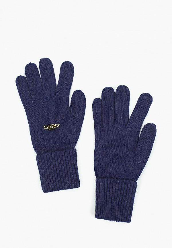 женские перчатки katomi, синие