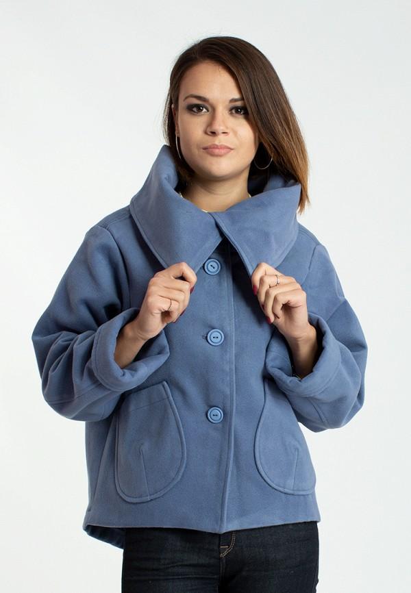 женское пальто modna anka, синее