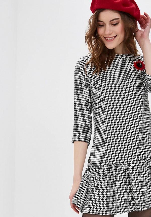 женское повседневные платье bezko, серое