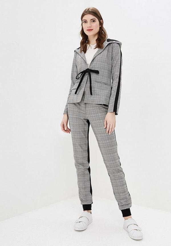 женский костюм bezko, серый