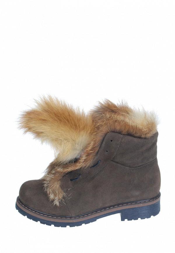 женские ботинки litvin, коричневые
