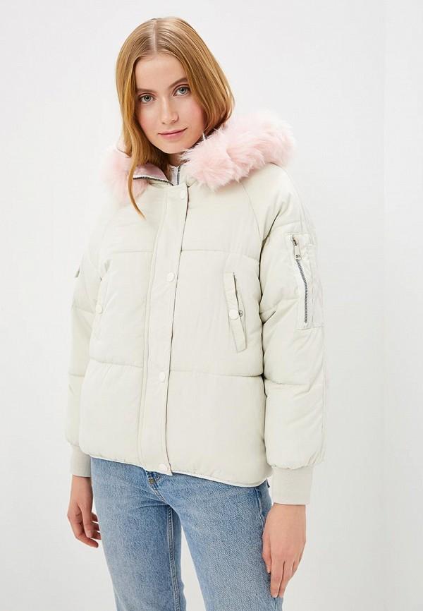 Купить Куртка утепленная Grafinia, mp002xw1hmyv, бежевый, Осень-зима 2017/2018
