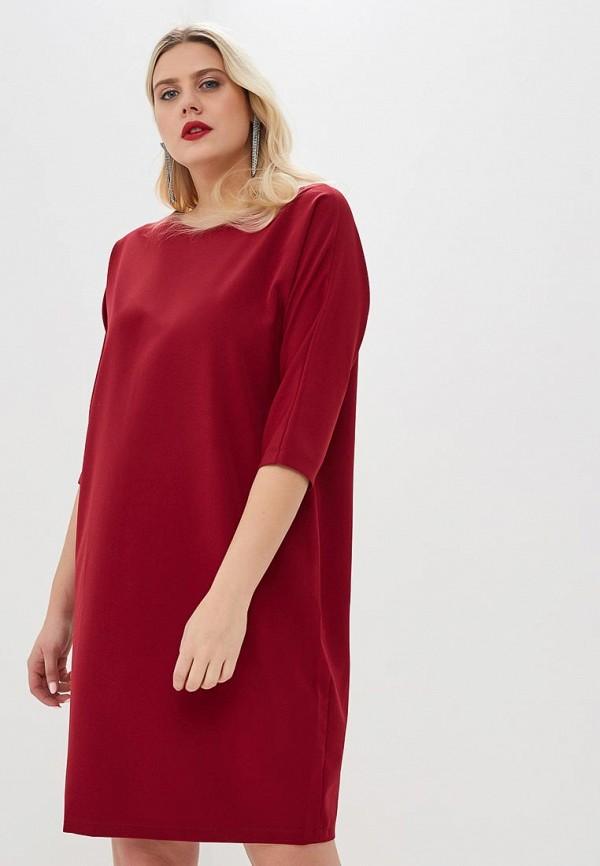 женское повседневные платье jp, красное