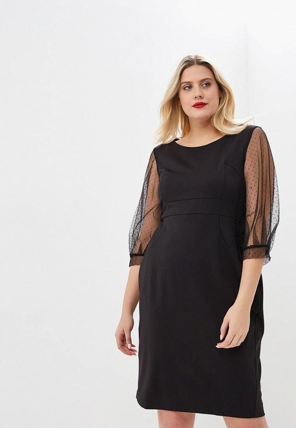 женское повседневные платье jp, черное