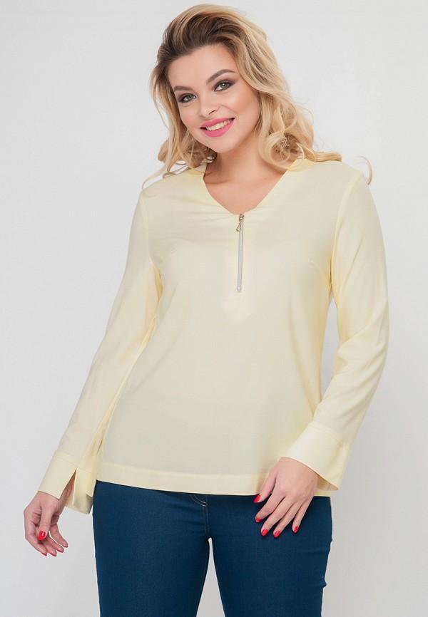 женская блузка limonti, желтая