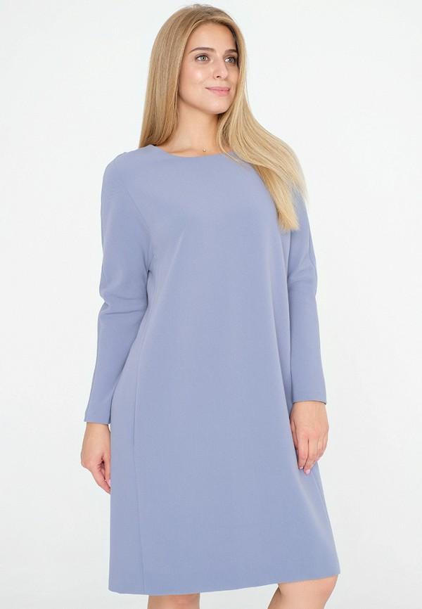 женское платье миди eliseeva olesya, голубое