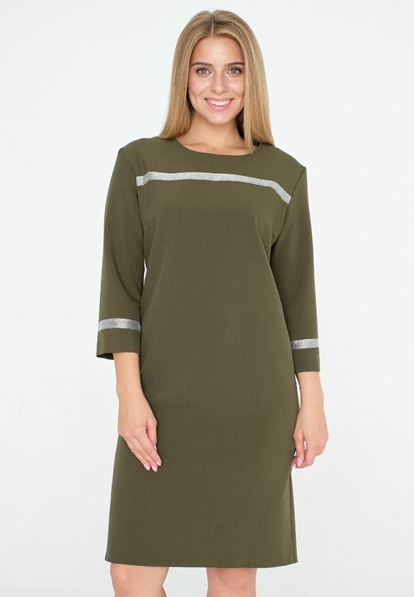 женское платье миди eliseeva olesya, хаки