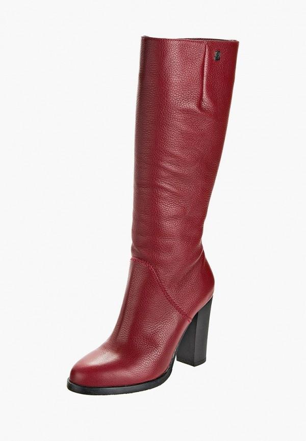 женские сапоги casual, красные