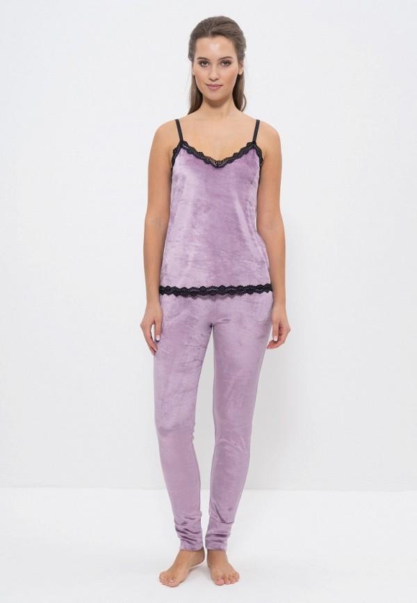 Купить Пижама Cleo, mp002xw1hnmx, фиолетовый, Осень-зима 2018/2019