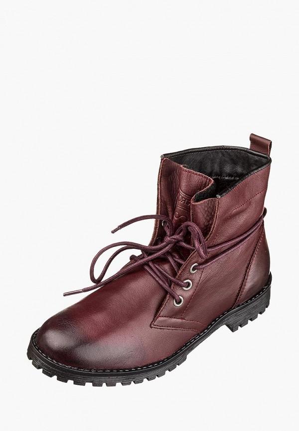женские ботинки goergo, бордовые