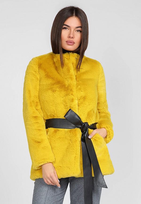 женская шуба gepur, желтая