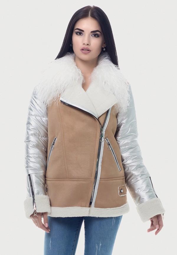 женская куртка vicco, бежевая